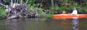 Kayak North-South Lake